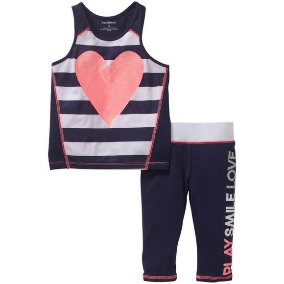 healthtex Other - Toddler Activity Wear Leggings & Top Size: 3T